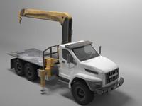 3D ural manipulator industrial model