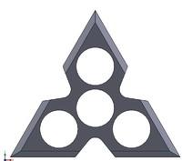 3D hand spinner
