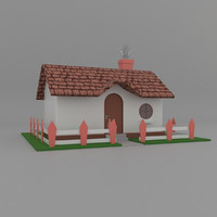 cartoon 3D model