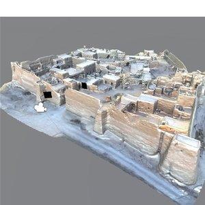 old building arabia 3D model