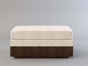 bill sofield solange sectional 3D model