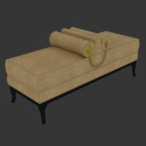 3D ottoman-lele bench