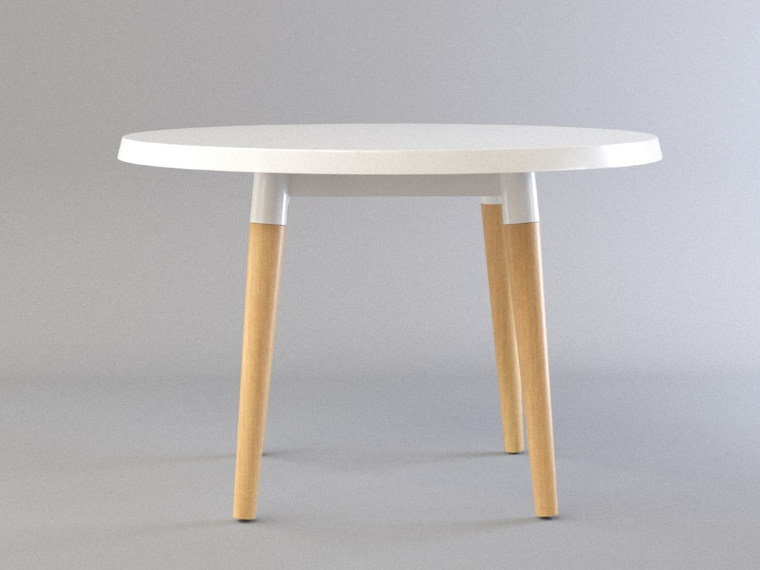 3D model copine table