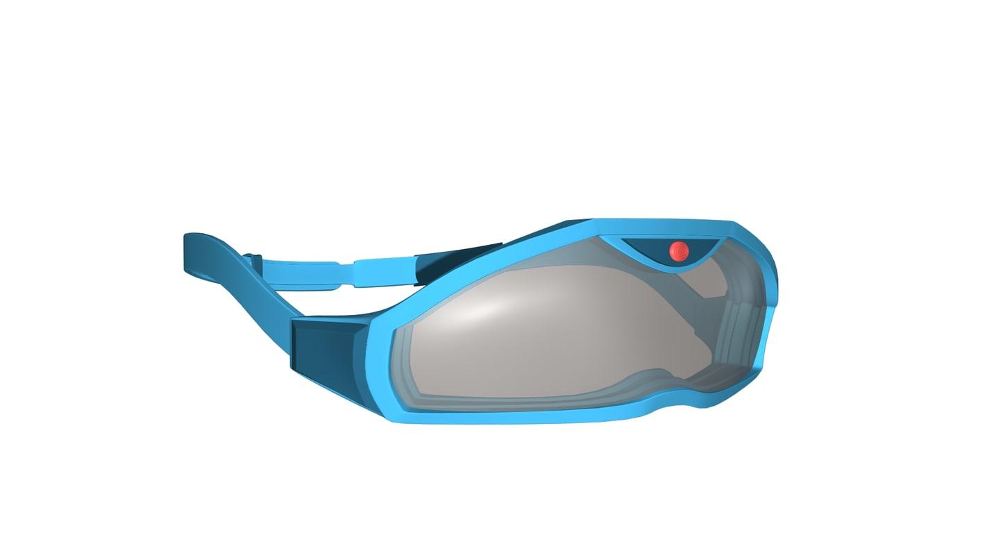 snow google 3D model