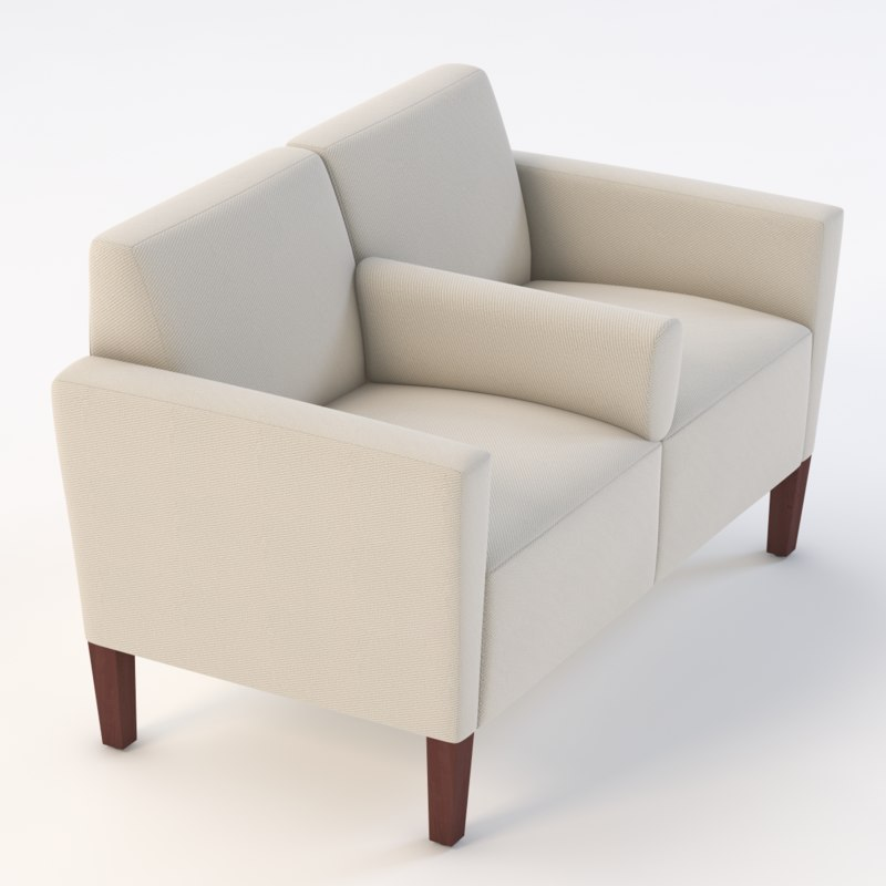 realistic photoreal seat 3D model