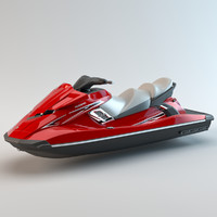 jetski jet ski 3D model