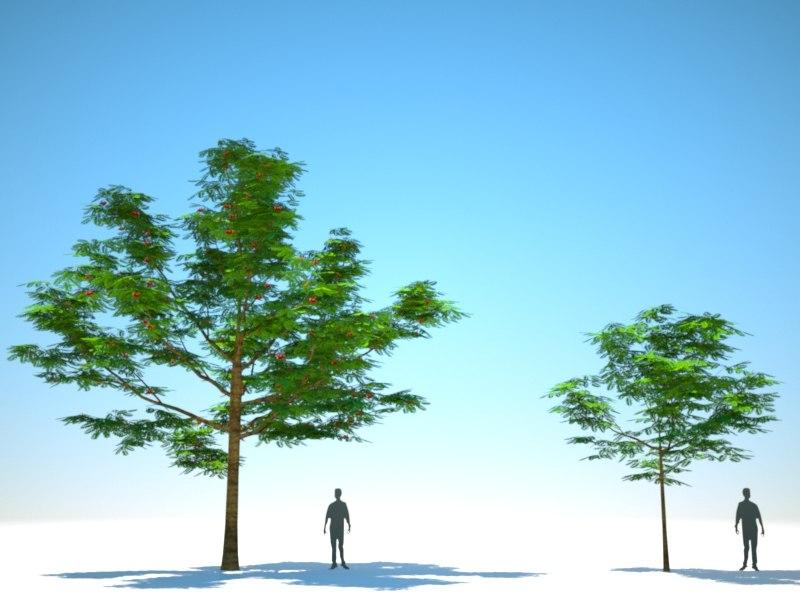 trees arch gpu 3D