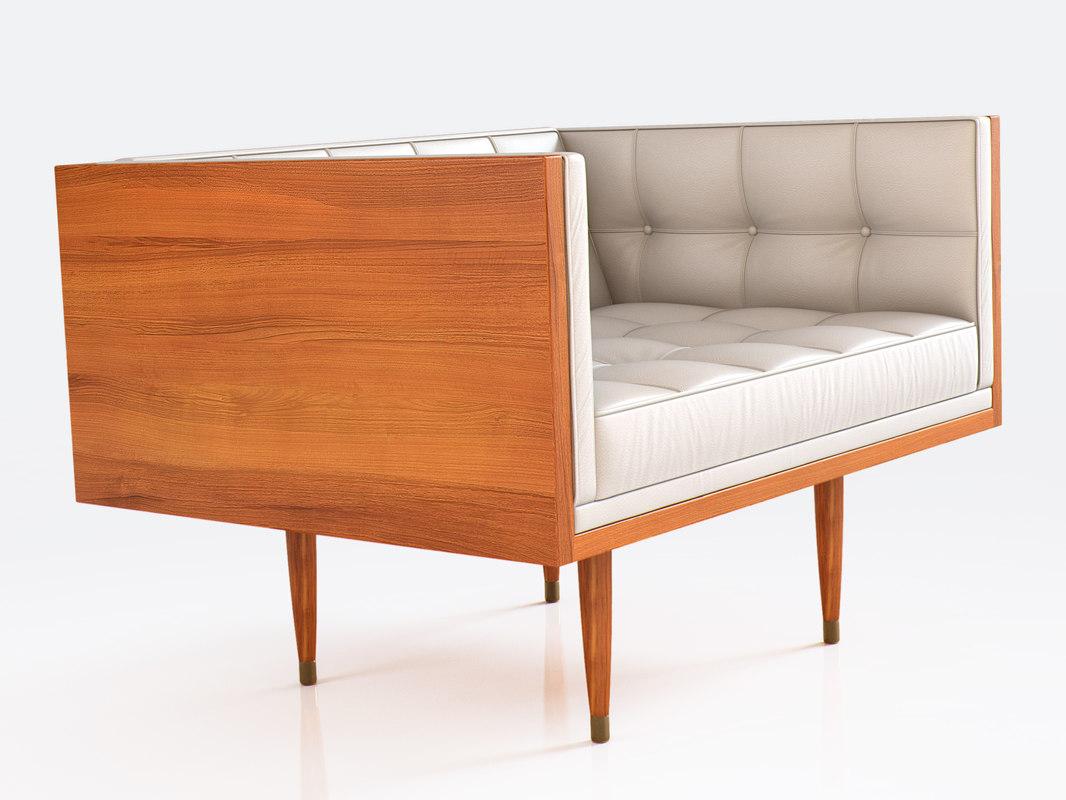box large sofa 3D