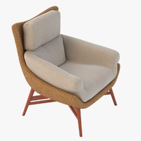 lounge chair jlf 3D