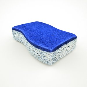 sponge kitchen 3D model