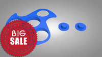 3D hand spinner model