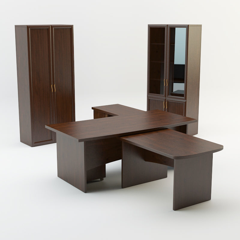 3D office furniture unitex master