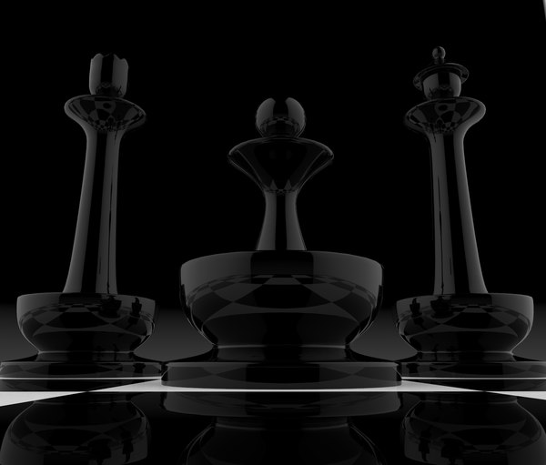 chess man chessman 3D model