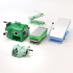 3D model iron tools