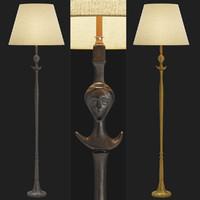 alberto giacometti lamp 3D