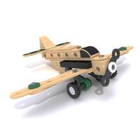 brio toy plane 3D model