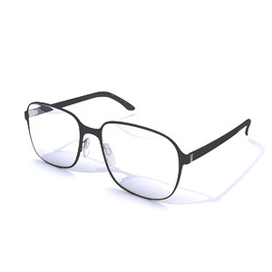 3D model glasses safilo
