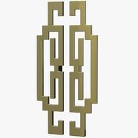 door handles v2 3D model