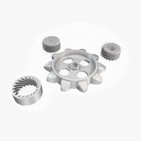 3D designs gears