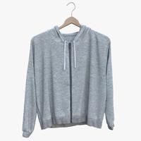 3D hoodie designer model