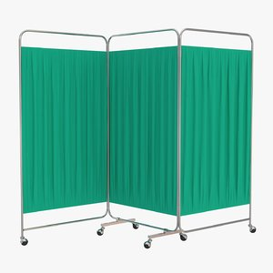 ward folding screen model