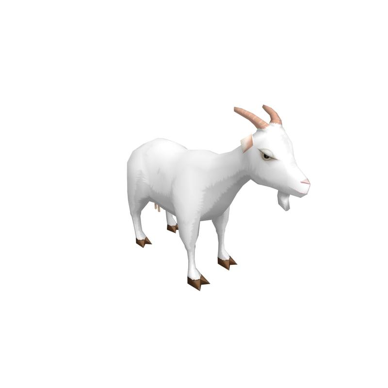 goat 3D