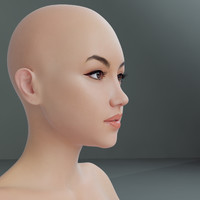 3D curvy female mexican