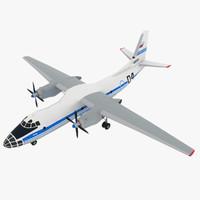 antonov an-30 3D model