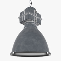 industrial lamp light 3D