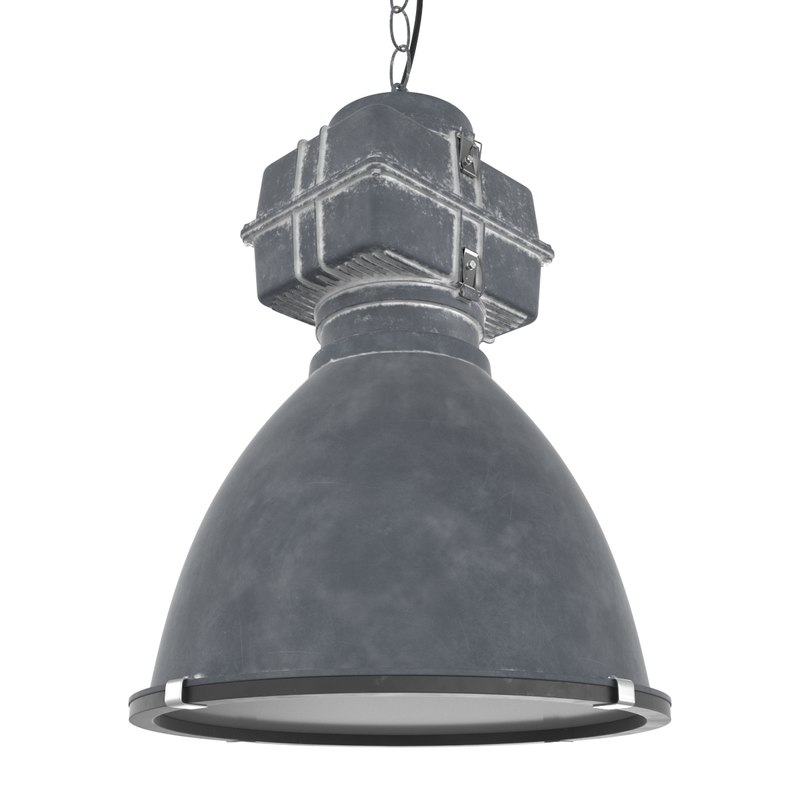 industrial lamp light 3D