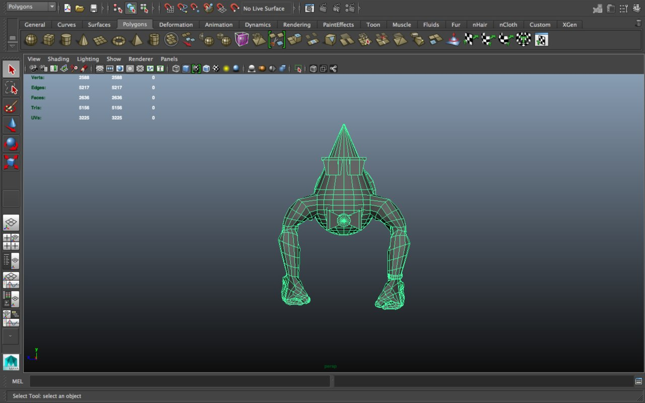 water drop turtle character model