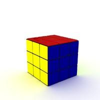 rubik cube model