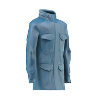 leather jaket dummy 3D model