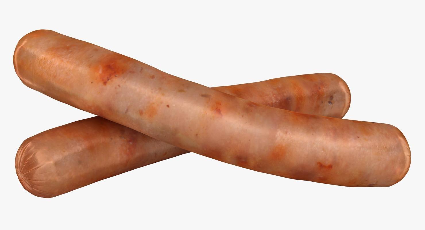 3D sausage 1