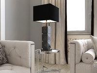 3D eichholtz table lamp carlo