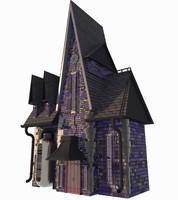 house despicable 3D model