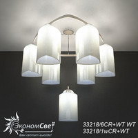 3D sconce chandelier economsvet 33218 model