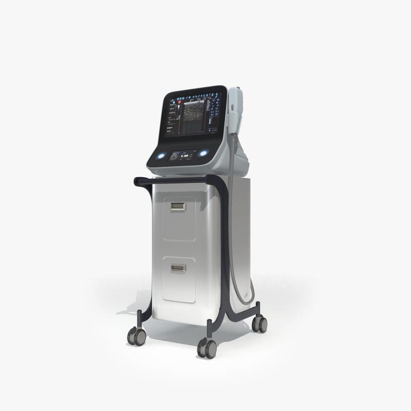 3D model medical device ultrasounds