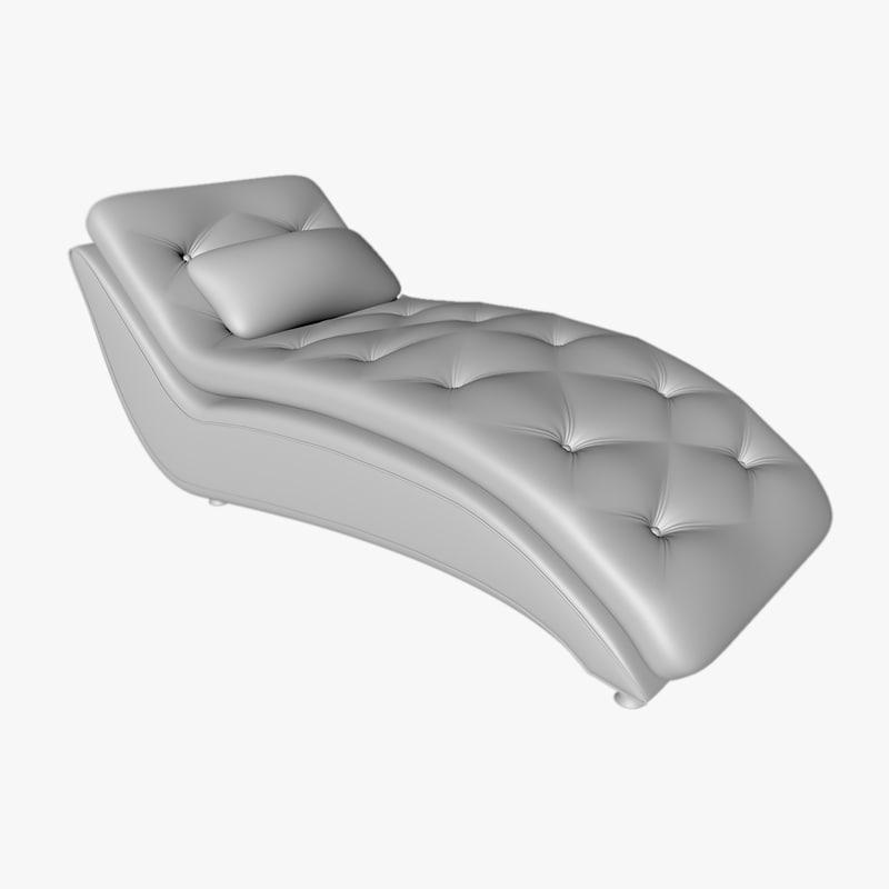 3D model sofa lounder