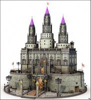 3D castle medieval