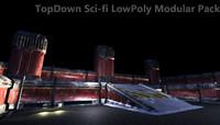 3D modular sci-fi