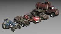 Post Apocalyptic Car Pack