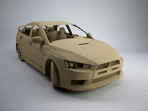 3D model evo