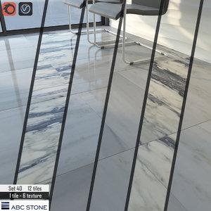3D model tile 2 floor