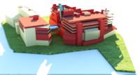 3D mall wood green england