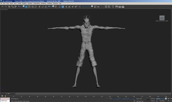 bob strange 3D