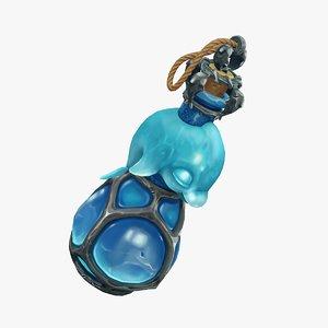 magic bottle 3D model