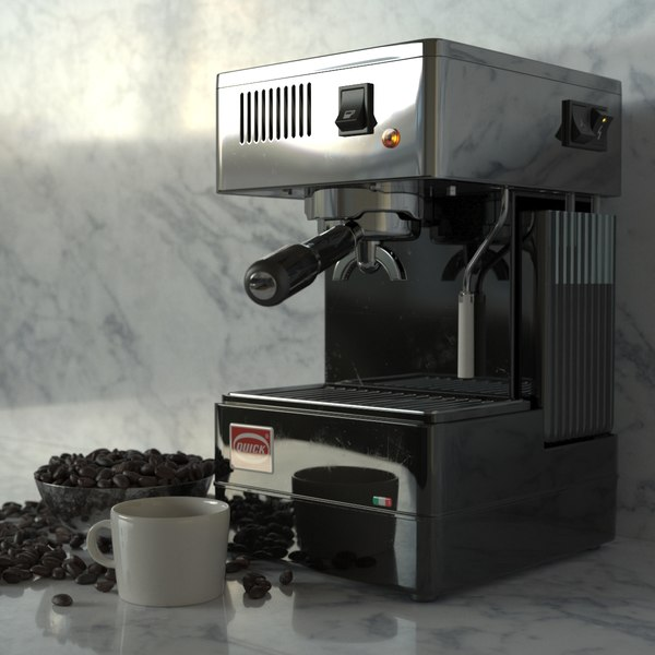 3D quickmill stretta 0820 espresso machine
