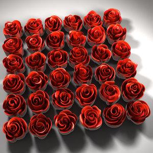 roses 02 cnc 3D