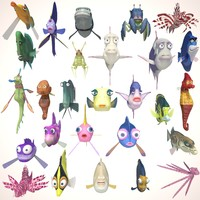 Cartoon Fish Collection